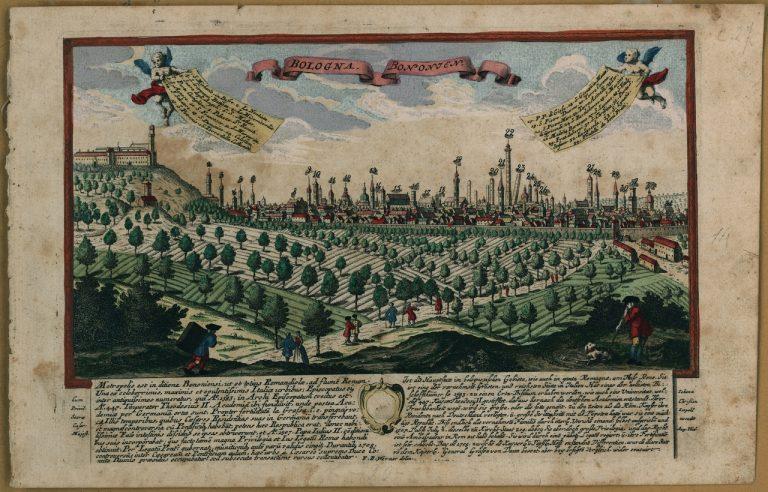 Werner, Friedrich Bernhard (dis.), Bologna. Bononien ...